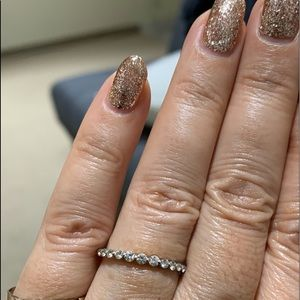 Gorgeous 14k gold diamond rings! Price is for 2!